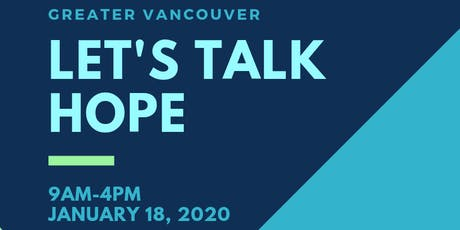 Let's Talk Hope DELTA Conference tickets