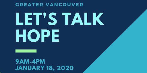 Let's Talk Hope DELTA Conference