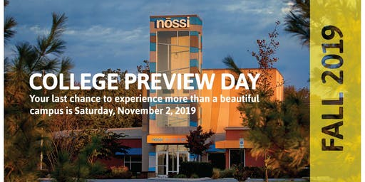 College Preview Day with Nossi College of Art