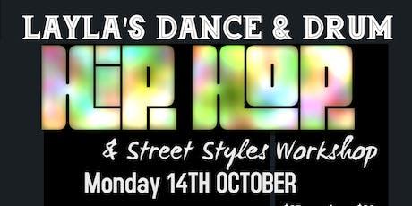 Hip-Hop & Street Styles Workshops tickets