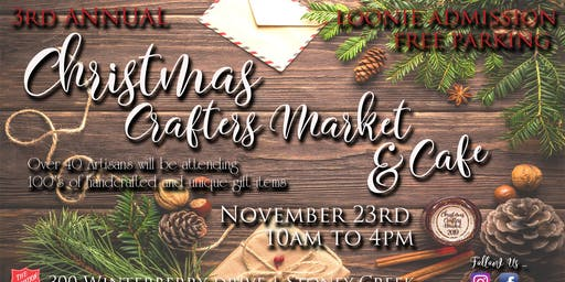 Christmas Crafters Market & Cafe (3rd Annual)
