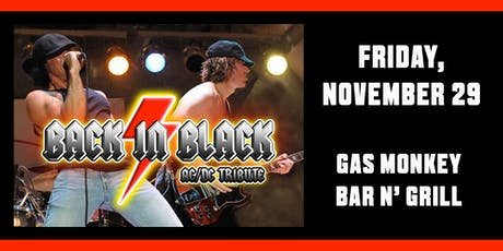 Back In Black (AC/DC Tribute) tickets