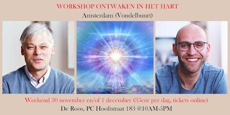 Ontwaken in het hart - meditatieworkshop Amsterdam tickets