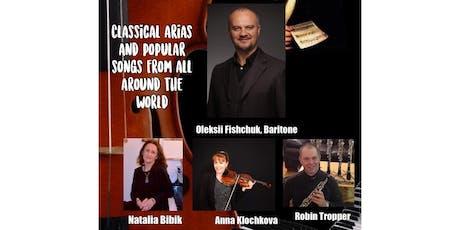 Bach to Ukraine! billets