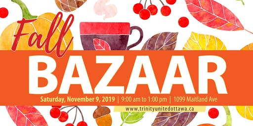 Fall Bazaar - Trinity United Church