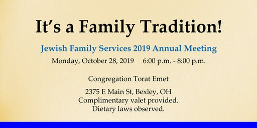 Jewish Family Services Annual Meeting
