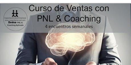 """Curso de Ventas """"Vendedor con Excelencia"""" PNL & Coaching Aplicado entradas"""