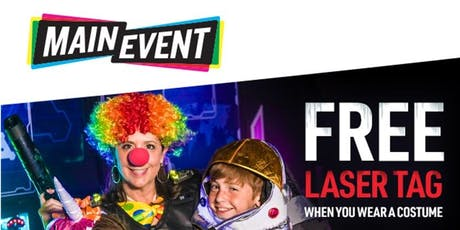 FREE Trick-or-Treating -  FUNtober  at Main Event Lewisville tickets