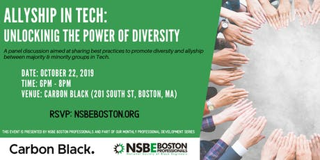 Career Networking event hosted by Carbon Black & NSBE Boston tickets