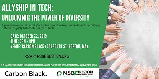 Career Networking event hosted by Carbon Black & NSBE Boston