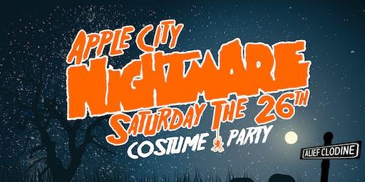 Apple City NIGHTMARE Costume Contest/Party