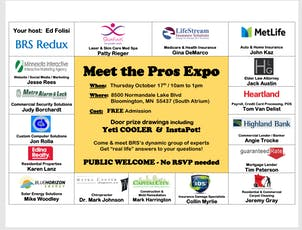 Meet the Pros Expo tickets