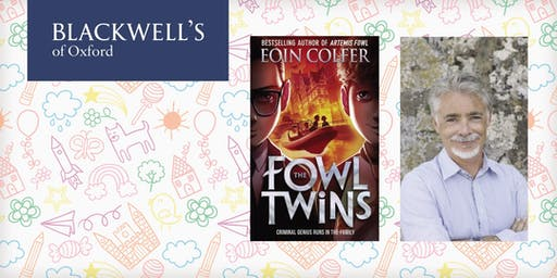 Eoin Colfer Book Signing for The Fowl Twins
