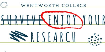 Enjoy Your Research - Making the Most of Your Year.