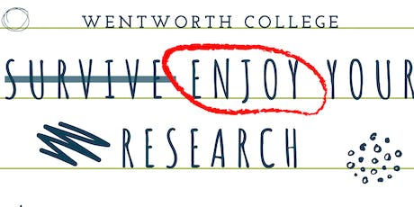 Enjoy Your Research - Making the Most of Your Year. tickets