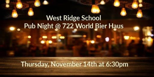 West Ridge School Pub Night