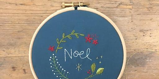 Christmas Hand Embroidery