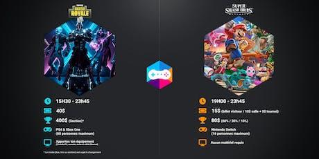 Événement Gaming présente : LAN Fortnite II (PS4/X1) billets