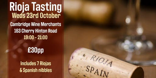 Rioja Tasting