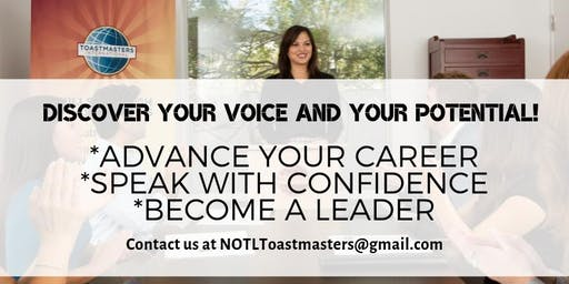 Speak with Confidence: NOTL Toastmasters