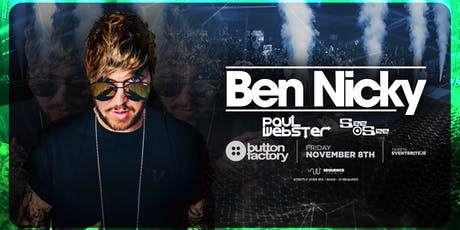 Ben Nicky at Button Factory tickets