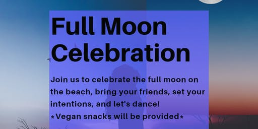 Full Moon Beach Celebration