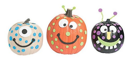 Decorate a Pumpkin and Ice Cream Event