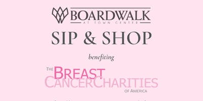 Sip & Shop for a Cause at Boardwalk at Town Center's Pop-up