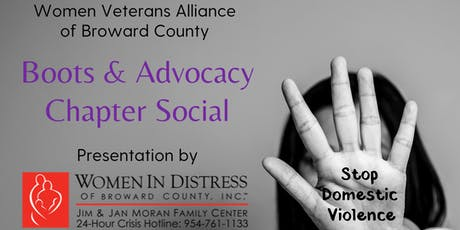 Boots & Advocacy Chapter Social tickets
