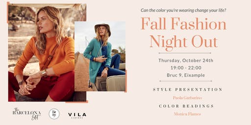 The Barcelona Edit: Fall Fashion Night Out!