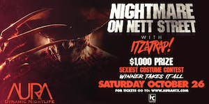 Nightmare on Nett St, Aura Halloween Weekend, Saturday...