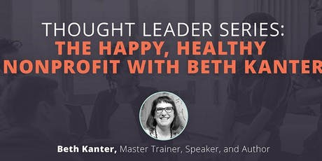 """""""The Happy, Healthy Nonprofit"""" ( Lunch 'n Learn) tickets"""
