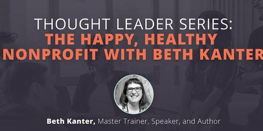"""""""The Happy, Healthy Nonprofit"""" ( Lunch 'n Learn)"""