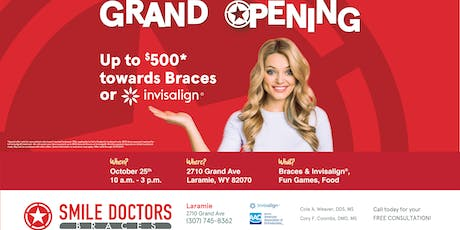 Ribbon Cutting and Grand Opening Ceremony for Smile Doctors by Braces U tickets