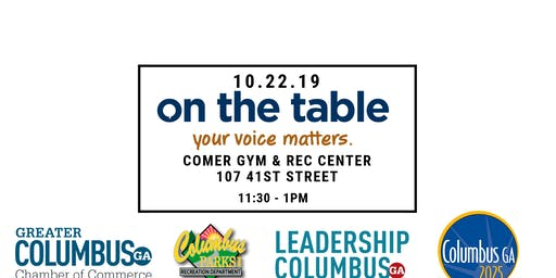 On The Table: Hosted By Chamber, Columbus 2025, Leadership Columbus, Parks & Rec