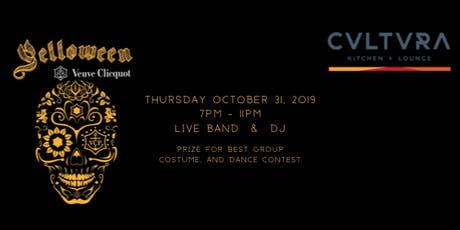 Yelloween at CVLTVRA Kitchen & Lounge tickets