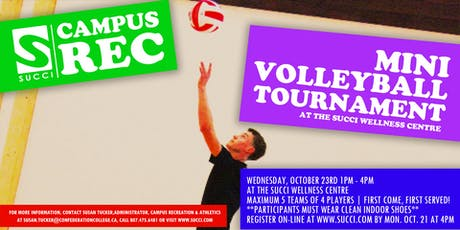 Mini Volleyball Tournament tickets