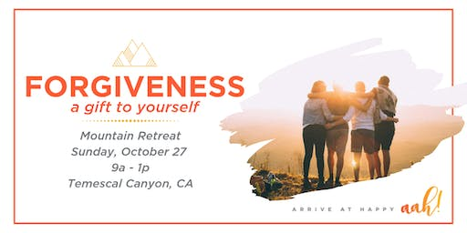 Forgiveness: A Gift To Yourself - Happiness & Breathwork Retreat