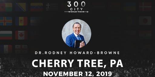 Rodney Howard-Browne in Cherry Tree, Pennsylvania