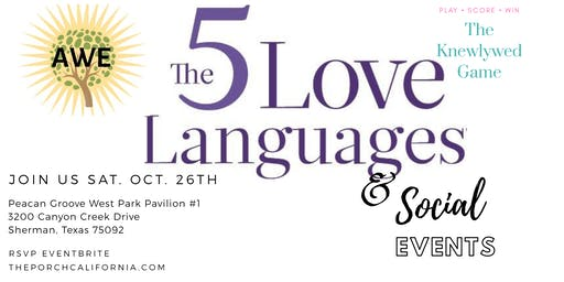 The 5 Love Languages & Social Event
