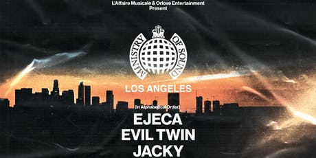 Ministry of Sound: Los Angeles tickets