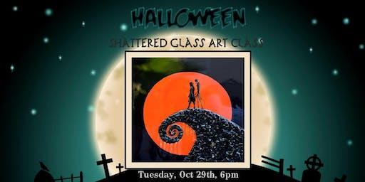 Halloween Shattered Glass Class