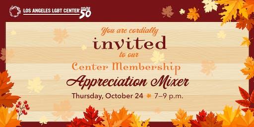 Center Membership Appreciation Mixer