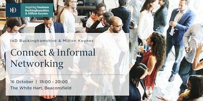 IoD Buckinghamshire & MK,  Connect – Informal Networking