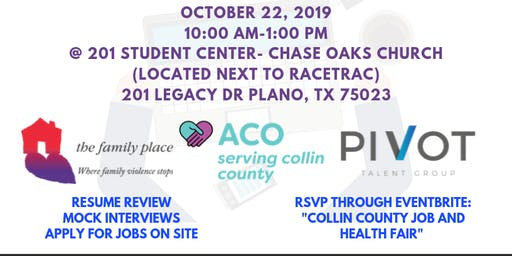 Collin County Job and Health Fair
