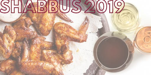 ShabBUS 2019- Wings and Wine
