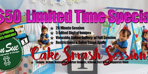 Cake Smash Mini Sessions