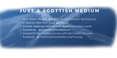 Readings Glasgow  Body and Soul - with Marc Stuart -JustaScottishMedium tickets