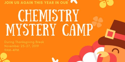Science Camp for Kids ages 6-12 | Thanksgiving Break