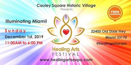 Illuminating Miami! Healing Arts Festival at Cauley Square Historic Village